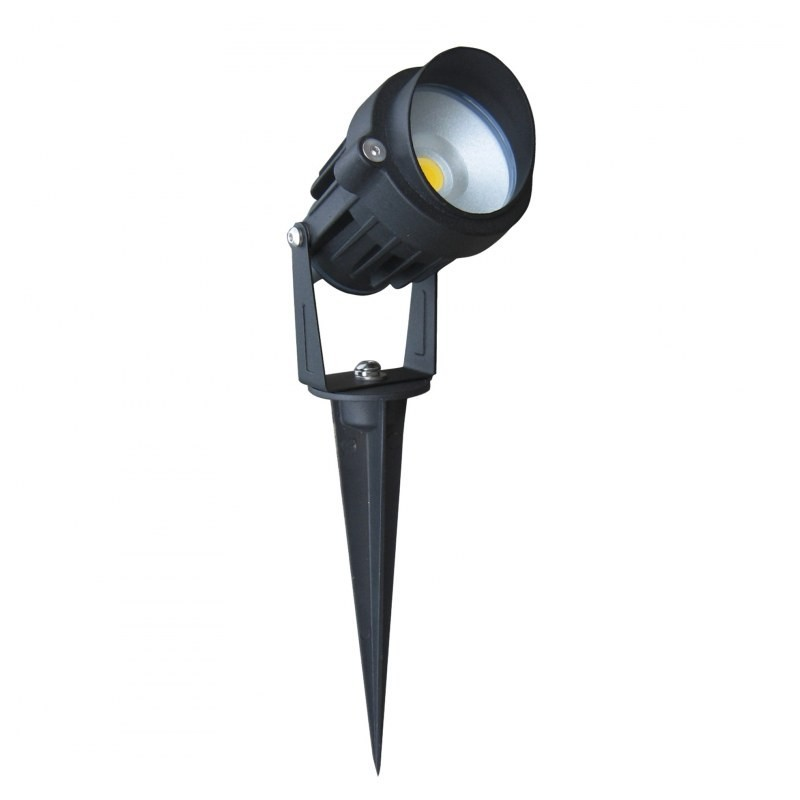 Spot piquet ext rieur led cob 6w boutique officielle Spot led exterieur design