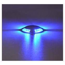 Spot LED balise Bleu 12V 1W