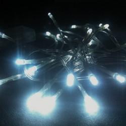 Guirlande 3 mètres 20 LED Blanche sur pile
