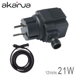 Alimentation électronique LED 21W Etanche IP67 12V + 5M de câble 12V