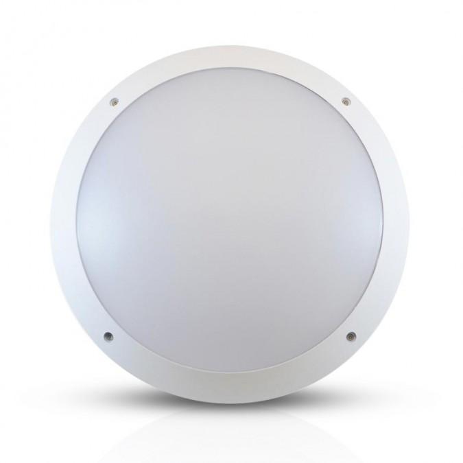 Plafonnier LED 20W Rond Ø300 mm (détecteur en option)
