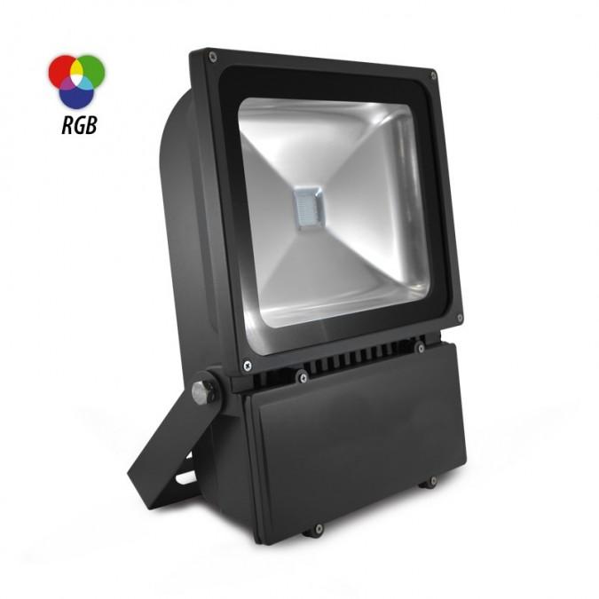 Projecteur LED RGB 100W Extérieur IP65