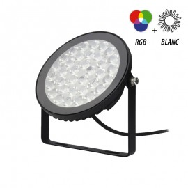 Projecteur LED RGBW 15W IP65