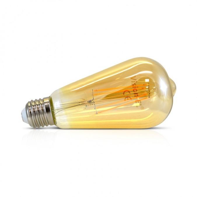 Ampoule LED E27 Edison Golden5W COB Filament