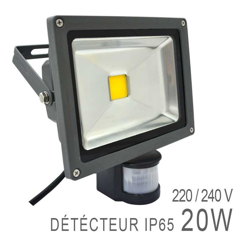 Projecteur led cob 20w ext rieur i boutique officielle for Projecteur led exterieur 20w