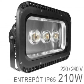 Projecteur Professionnel 210W LED COB Industriel