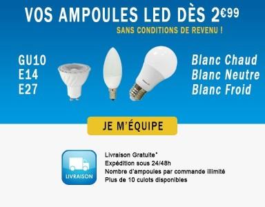 Mes ampoules LED - Offre Spéciale